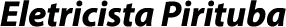 Eletricista Pirituba
