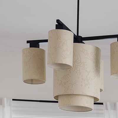 Instalação de luminárias