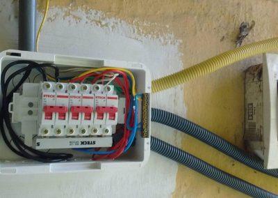 Distribuição eletrica do QD eletricista lapa