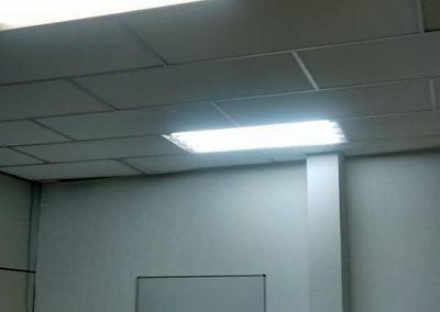 instalação de luminaria eletricista na lapa