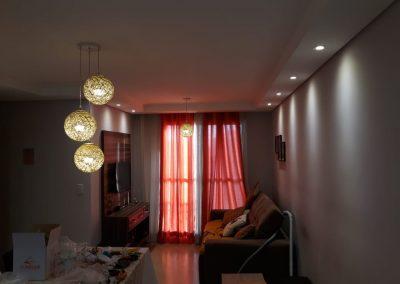 instalaçăo de lampadas no gesso eletricista vila leopoldina