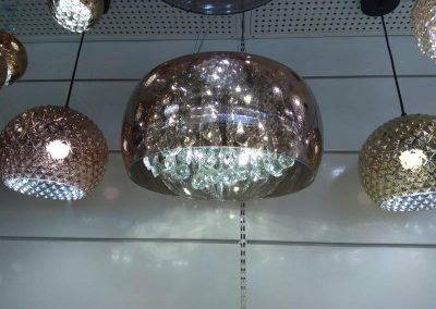 instalação de lustres de cristais