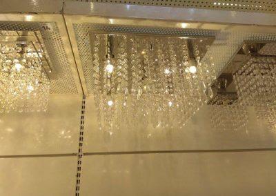 instalador de lustre pendente