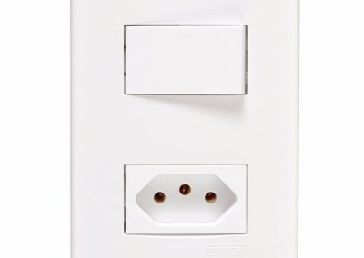 interruptor com tomada